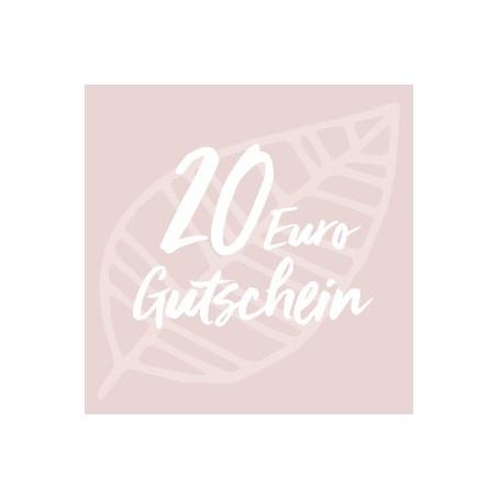 Gutschein-Karte 20 Euro