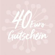 Gutschein-Karte 40 €