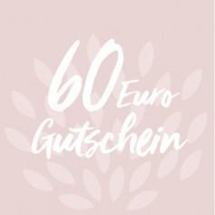 Gutschein-Karte 60 €