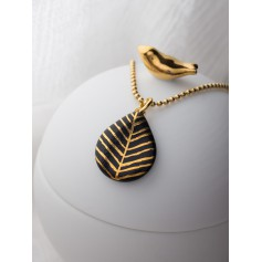 Halskette Tropfenform Lina