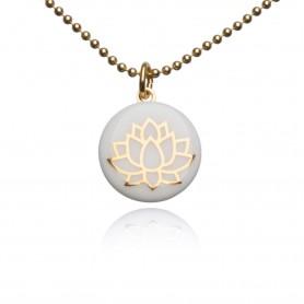 Halskette Lotusblüte