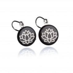 Ohrring Lotusblüte