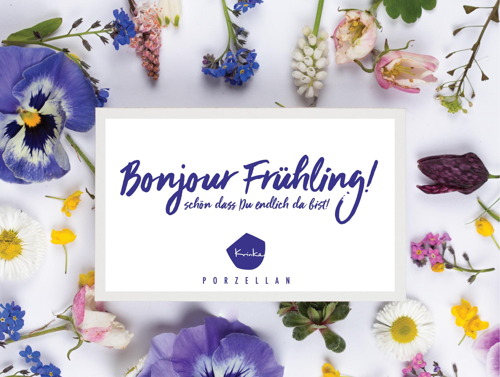 Frühling bei Prinke Porzellan